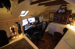 My editing suite , my creative sanctuary.