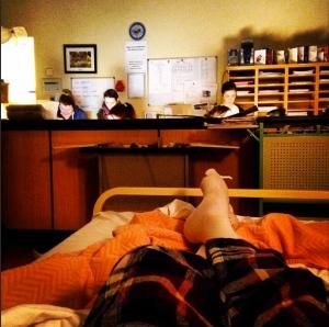 Limbo in Cork University Hospital